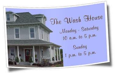 The Wash House Gift Shop Hours of Operation